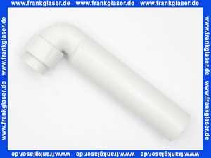 252240111 Geberit Anschlussbogen 90Gr mit Überwurfmutter d50/40