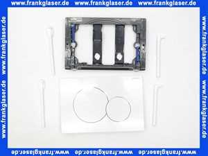 115770115 Geberit Drückerplatte Sigma 01 weiss-alpin für 2-Mengen-Spülung für UP320 / UP300