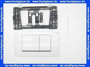 115899KJ1 Geberit Betätigungsplatte Twinline30 für 2-Mengen-Spül. we / hochgl. VC