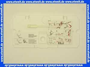 24007300 Geberit Schutzplatte f.UP-Spuelkasten Mod.88