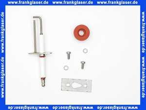 07-10-51151 Giersch Zünd- und Ionisationselektrode Giegastar 10 / 20 / 30 mit Tülle