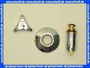 11505000 Grohe Oberteil 11505 für UP-Ventile Trecorn Gr. Mark. rot 3/4  chrom