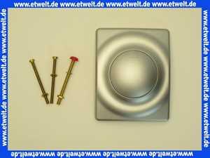 37018P00 Friedrich Grohe Betätigungsplatte Surf 116 x 144 mit Druckknopfbetätigung mattchrom