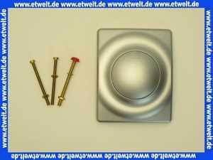 38808P00 Friedrich Grohe Betätigungsplatte Surf 116 x 144 mit Druckknopfbetätigung mattchrom