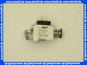 43471000 Grohe Hubmagnet 43471 komplett f. WE-Spülkasten 6-9l elektr. Tasterbet.