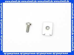 83249005e Grünbeck Schnappmutter M5 mit Schraube (1 Stück)