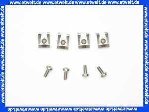 83249005e Grünbeck Schnappmutter M5 mit Schraube (4 Stück)