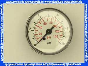 00ID3266 Grundfos Manometer 1/4  für Hydrojet JP 5 und JP 6