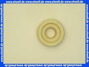 3172 Haas Euro Dubletta WC Spülrohr Verbinder weiss