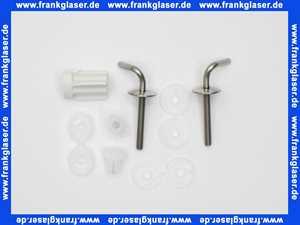 401048 Hamberger Edelstahl-Scharniere f.WC-Sitz Golf