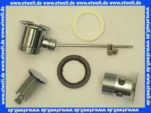94139 Hans Grohe Ablaufgarnitur Excentergarnitur 1 1/4  verchromt für Waschtisch und Bidet