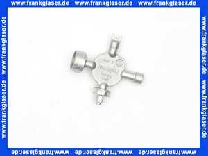 053001433 Heimeier Universalschlüssel Schlüssel zur Einstellung von Heimeier Thermostatventilen und Regulierventilen
