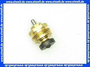 234002299 Heimeier Thermostat-Oberteil Stopfbuchse blau, ab Baujahr 1985