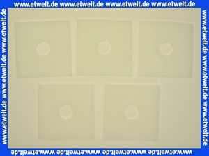 0939 Helios Ersatz-Luftfiltermatte 5 Stück für ELS-Ventilatoreneinsatz