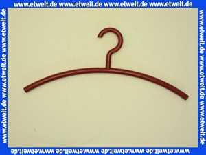 570333 Kleiderbügel Hewi drehbar rubinrot mit Rastpunkten