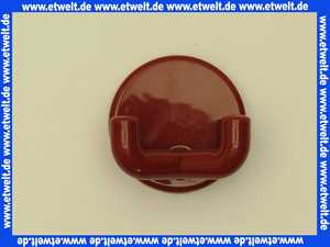 8019002033 Handtuchhaken Hewi doppelt 31mm rubinrot