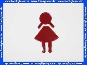 8019102033 Hewi Symbol Frau Serie 801 selbstklebend rubinrot
