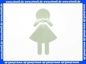 8019102095 Hewi Symbol Frau Serie 801 selbstklebend felsgrau