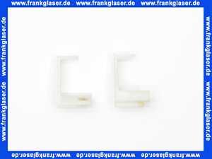 131500 Hoesch Führungswinkel Satz rechts/links unten für CORONA Z. GSK 2919/A, weiß