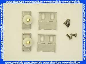 040352080 Hüppe Gleitrollen für 1/4-Kreis mit Schiebetüren grau