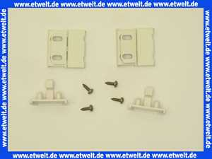 040363055 Hüppe Gleitersatz für Duschabtrennung Inhalt 2 Stück weiß