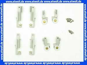 054554069 HÜPPE  Laufrollen /Gleitersatz für GTE2 Eckeinstieg Grau