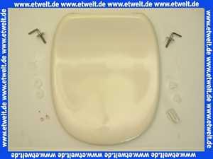 K700827 Ideal Standard Kimera WC - Sitz mit Deckel in Pergamon mit Schanieren und Puffern