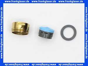 H960108A9 Jado Strahlregler edelmessing