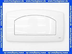 1672704000100 Jomo Betätigungplatte Drückerplatte weiß zu UP Spülkasten TSR mit Start Stopp Funktion