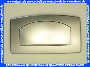 167-27040030-00 Betätigungplatte Drückerplatte mattchrom zu UP Spülkasten TSR mit Start Stopp Funktion