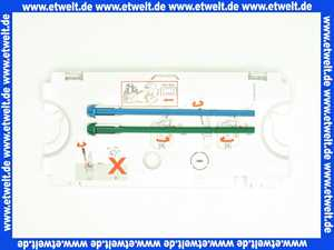 Jomo 171-64000700-00 Abdeckplatte zu UP Spülkasten inklusive Drückerbolzen