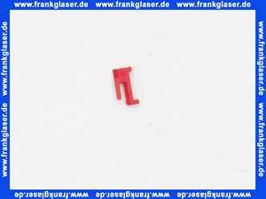 87499180980 1 x Junkers Steckreiter Schaltreiter rot für Zeitschaltuhr