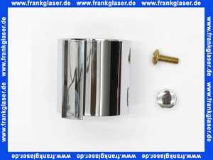 00281-C Kaja Mengenreguliergrifffür Unterputz-Thermostat mit Absperrung in chrom