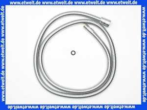 28115-C Kaja Metallschlauch Brauseschlauch für Küchenbatterie,150 cm x 1/2  x 15 x 1 mm, in chrom