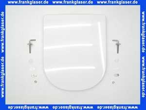 572140 Keramag WC-Sitz Renova Plan, mit Deckel bis 07/09 Scharniere Edelstahl, weiss