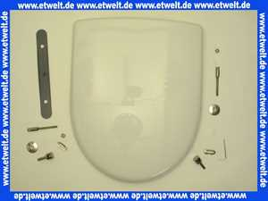 Keramag WC-Sitz Renova Nr.1 mit Edelstahlscharnieren abnehmbar weiß