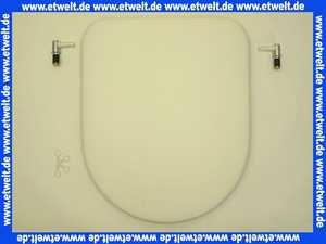 573800072 Keramag WC-Sitz Mango Edelweiss mit Scharnieren Sitz- und Deckelpuffern
