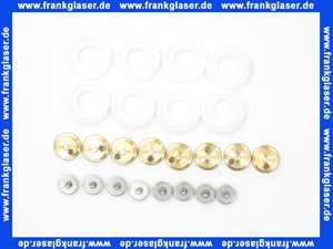 2533577 Kermi Ersatzrollenset Laufrollen für 2 teilige Duschkabine