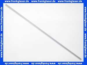 7032 Kermi Spritzschutzprofil unten waagerecht für Kermi Bella 1 Meter