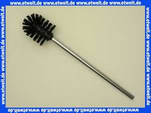 14972014001 Keuco Toilettenbürste Plan 14972, verchromt, Bürstenkopf schwarz