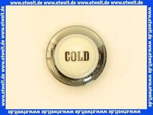 750220500 Kludi Ersatzteil Porzellanmarkierung Cold chrom