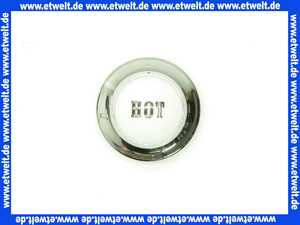 750230500 Kludi Ersatzteil Porzellanmarkierung Hot chrom