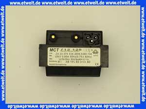 611947 Körting Zündtrafo ZA 23075 E 34 Primär 230V / 50Hz sekundär 2 x 4kV 20 mA