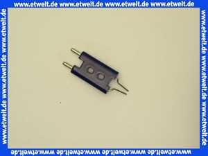 612289 Körting Doppelelektrode 8 x 42 / 28,8 x 11 Zünddraht 2 x 1,5D