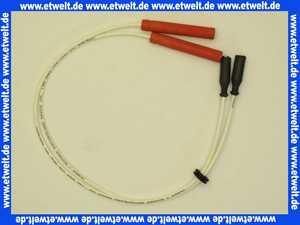 12678 Körting Zündkabelsatz kompl. 380lang beidseitig Stecker 4mm isoliert