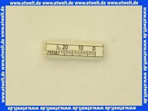 615938 Körting Einstellskala 0-25 37 lang D12/7,9