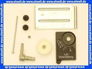 618663 Körting Luftklappenset JET 4.5/JET 50 Teile nach Stückliste