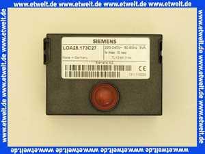 2001505 Landis & Gyr Ölfeuerungsautomaten LOA 25.173 C27