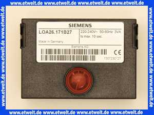 Ölfeuerungsautomaten LOA 26171B27 fernentriegelbar