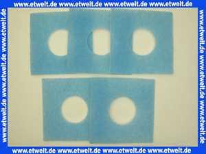 Limot Ersatzfilter Filtereinsatz F-LF/5 für LF-Lüfter 226/226mm (Paket a 5 Stück)